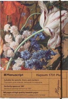 Скетчбук Manuscript Huysum 1724(1731) Plus A5 Чистые 160 страниц с открытым переплетом (M - Huysum+)