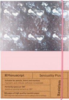 Скетчбук Manuscript Sensuality Plus A5 Чистые 160 страниц с открытым переплетом (M - Sensuality+)