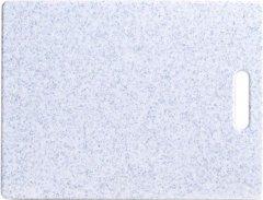 Доска разделочная Zeller Granit с ручкой 36.5x27.5x0.8 см Светло-серая (26149)