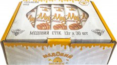 Мед в стиках Медовий шлях 12 г х 30 шт (4820191810907)