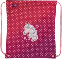 Сумка для обуви Herlitz Horse Лошадка розовая (50026418H)