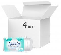Упаковка ватных дисков Novita Delicate 4 пачки по 50 шт (4744246013108) (41102018)
