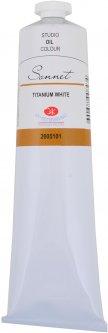 Краска масляная Невская палитра Сонет Белила титановые 120 мл (4690688008434)