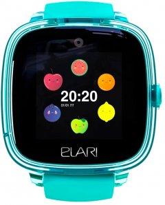 Детские смарт-часы с GPS-трекером Elari KidPhone Fresh Green (KP-F/Green)