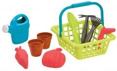 Игровой набор Ecoiffier корзина Садовника с горшками для цветов 18+ м (004567) (3280250045670)