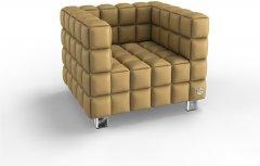 Мягкое кресло Kulik System NEXUS 1 Бежевый (NEXUS_6101_M1_MC_0204)