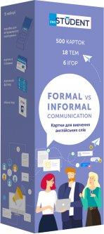 Карточки для изучения английского языка English Student Formal vs Informal 500 шт (9786177702329)