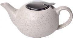 Заварочный чайник Fissman с ситечком 800 мл Белый песок (9341)