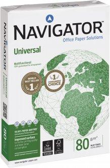 Бумага офисная Navigator A3 80 г/м2 класс A+ 500 листов Белая (5602024006126)