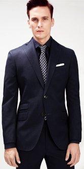 Пиджак Mango 33043010 54 Темно-синий (AB5000000007073)