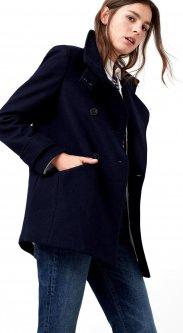 Пальто Mango 71070065 XS Темно-синее (AB5000000163915)