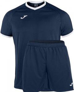 Футбольная экипировка Joma Academy XL Темно-сине-белая (101097.302_XL)