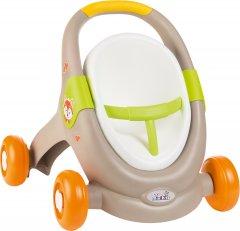 Коляска Smoby Toys Mini Kiss 3в1 Веселые животные (210206) (3032162102060)