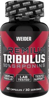 Тестостероновый бустер Weider PREMIUM TRIBULUS 90 капсул (4044782376409)