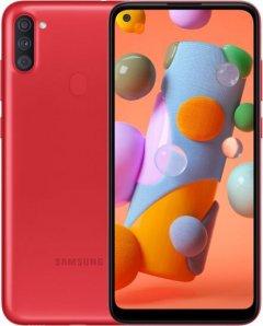 Мобильный телефон Samsung Galaxy A11 2/32GB Red (SM-A115FZRNSEK)