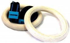 Кольца гимнастические LivePro Wood Gym Ring (LP8123)