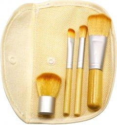 Набор кистей для макияжа Supretto бамбуковых 4 шт (2000100050880)