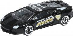 Коллекционная моделька Same Toy Model Car Полицейская машинка черная 1:64 (SQ80992-But-3)
