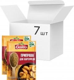 Упаковка приправы Galeo Для картофеля 20 г х 7 шт (5900084267205)