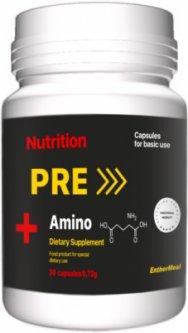 Тонизирующая добавка EntherMeal PRE Amino+ 30 капсул (PREAMI030EM78)