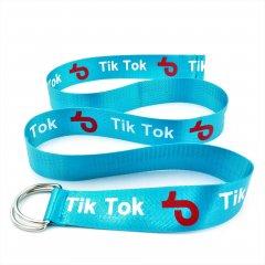 Ремень тканевый Tik Tok new-tik-tok-008 Голубой