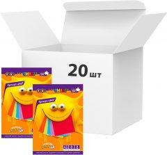 Набор цветного картона ZiBi А5 8 листов 8 цветов 200 г/м2 20 упаковок (ZB.1957)