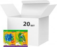 Набор цветной бумаги ZiBi A4 14 листов 7 цветов 45 г/м2 20 упаковок Ассорти (ZB.1901)