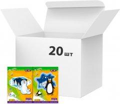 Набор белого картона ZiBi А4 10 листов 235 г/м2 20 упаковок Ассорти (ZB.1990)