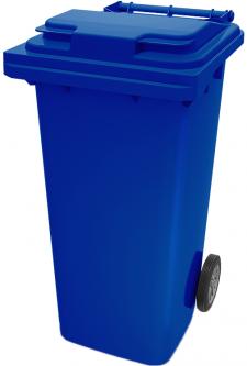 Мусорный контейнер Iplast 240 л Синий (21.052.60)