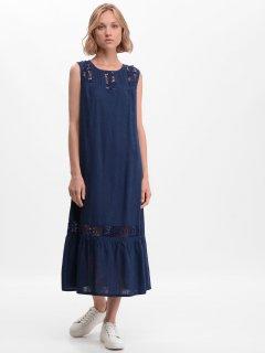 Платье Рута-С 4021лн 46 (164-92-100) Темно-синее