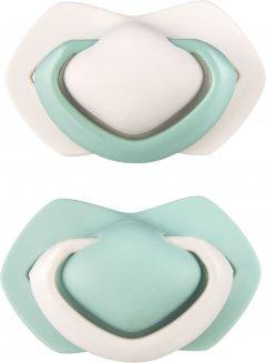 Пустышка Canpol Babies Pure Color силиконовая симметричная 6-18 месяцев Бежевая 2 шт (22/645_bei)