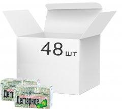 Упаковка мыла Невская Косметика Дегтярного 140 г х 48 шт (14600697101931)