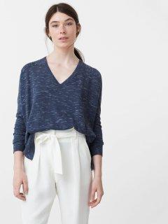Пуловер Mango 74043504 S Индиго (AB5000000146253)