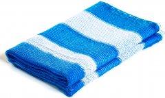 Сетка затеняющая Karatzis 65% 4x10 м Бело-голубая (5203458763465)