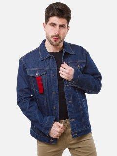 Джинсовая куртка Remix Y302 L Темно-синяя (2950006517621)