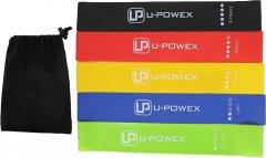 Набор резинок для фитнеса U-Powex 5 шт (2000992400275)