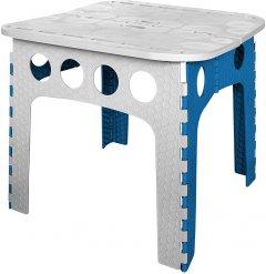 Стол складной Stark 50 см Серо-синий (530050010)