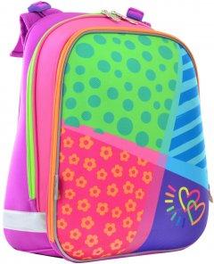 Рюкзак школьный каркасный 1 Вересня H-12 Bright Colors 38x29x15 см (554581)