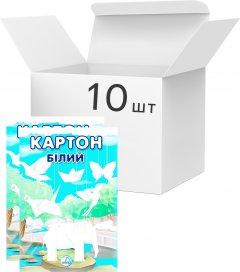 Упаковка картона белого Аркуш А4 7 листов 200 г/м² 10 шт (1В601)