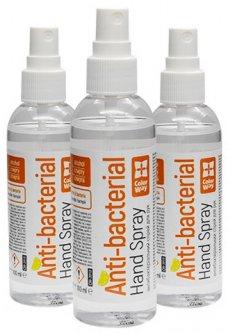 Набор спиртовых антисептиков ColorWay для дезинфекции рук 3 шт х 100 мл (CW-3913) (4823108604712)