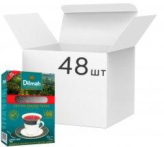 Упаковка чая Dilmah черного крупнолистового 50 г х 48 шт (19312631122265)