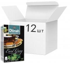 Упаковка чай Dilmah черного Эрл Грей 12 пачек по 20 пакетиков (19312631142102)