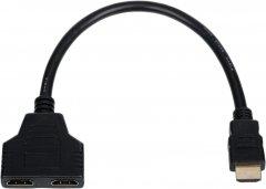 Переходник Atcom Y-Cпліттер HDMI (male) - 2 HDMI (female) 10 см (10901)