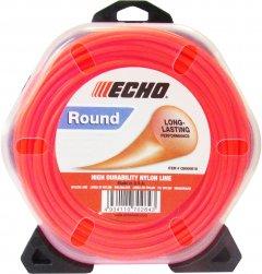 Леска косильная Echo диаметр 2.4 мм 88 м круглая (С6000024/310095064)