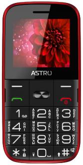 Мобильный телефон Astro A241 Red (1682)