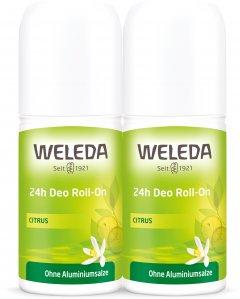 Набор дезодорантов Weleda Цитрус Roll-On 24 часа 50 мл х 2 шт (4001638095235) (98880000000000)