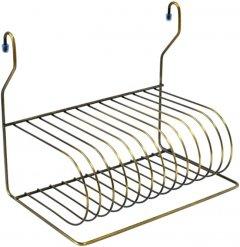 Сушка для посуды навесная Lemax для рейлинга Бронза (MX-076 BA)