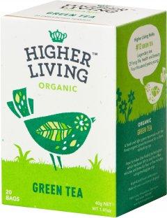 Чай Higher Living зелёный органический Green Tea 20 пакетиков (5060319120115)