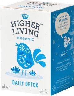 Чай Higher Living травяной органический Daily Detox 15 пакетиков (5060319129422)