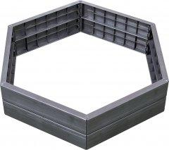 Высокая грядка Garantia Graf Ergo 6 панелей (645100)